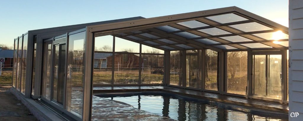 Retractable Pool Enclosures Opening