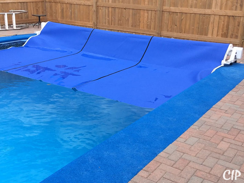 Automatic Pool Cover winding up
