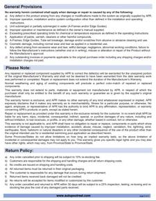 warranty page2-2